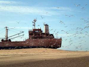 Shipwreck series, Zineb Sedira