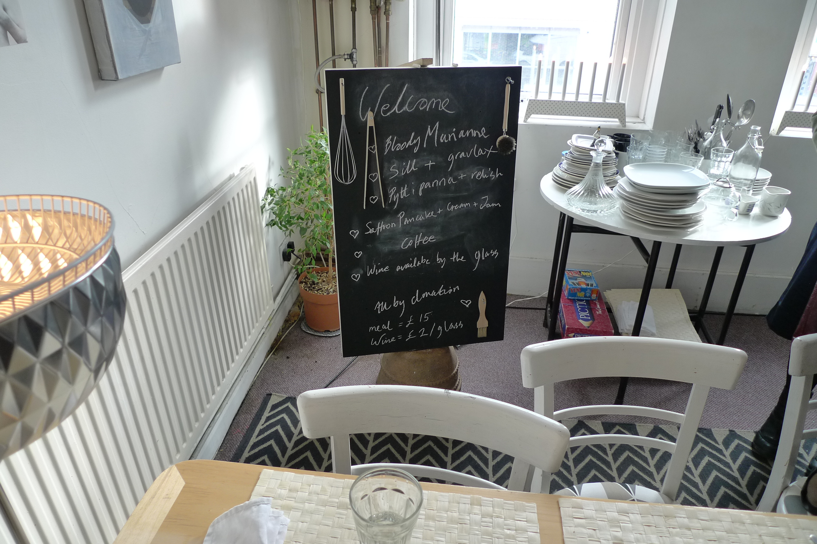 There Are Quite A Few Supper Clubs And Underground Restaurants In East London General But Only One That Does Swedish Brunch The